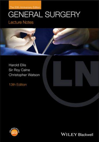 Lecture Notes - General Surgery 13th Edition (2016) [PDF]