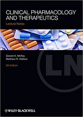 Clinical Pharmacology and Therapeutics 9th edition