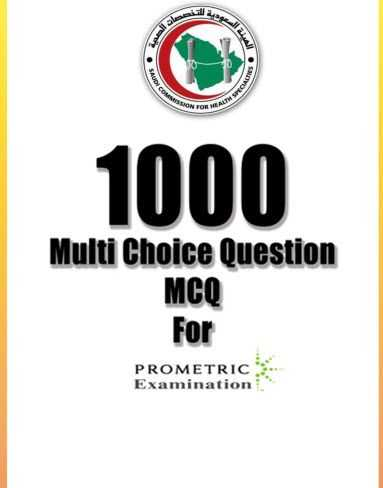 1000 multi choice question MCQ For Prometric Examination [PDF]