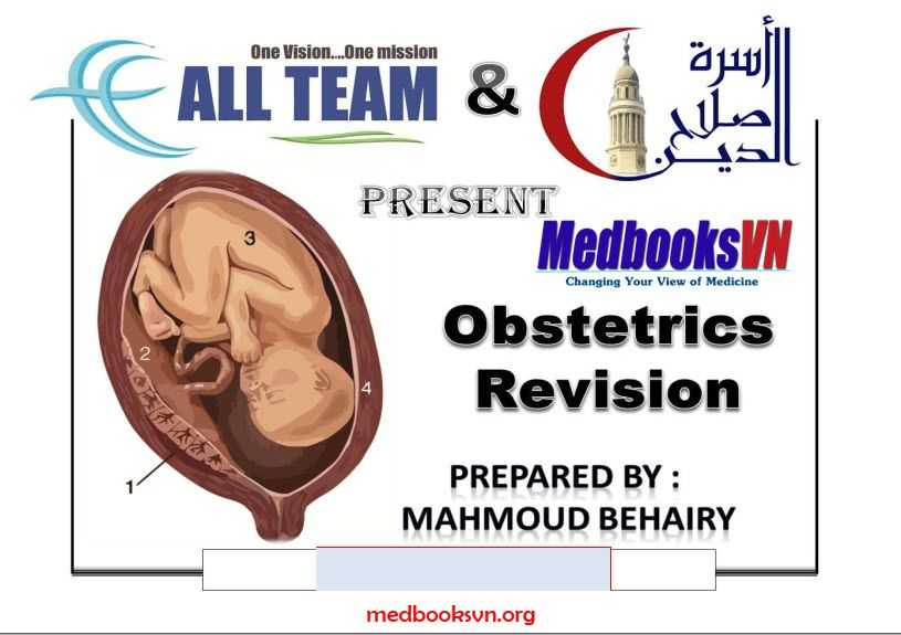 Obstetrics Revision All Topics in 9 Pages