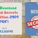 Free Download Medical Secrets 6th Edition 2019 PDF