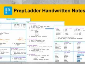 Download All PrepLadder Handwritten Study Notes 2019