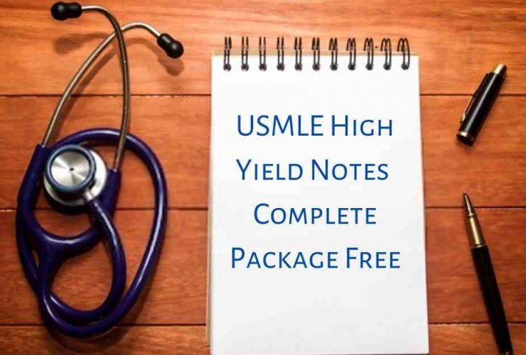 USMLE High Yield Notes Complete Package Free Download