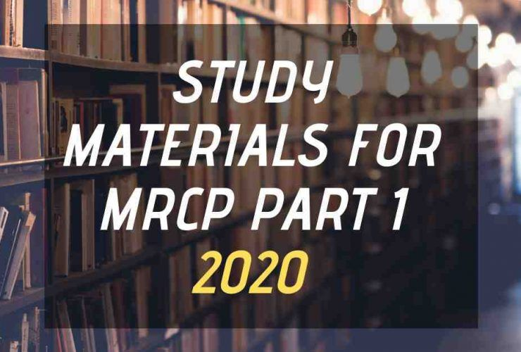 Updated MRCP Part 1 Study Materials 2020