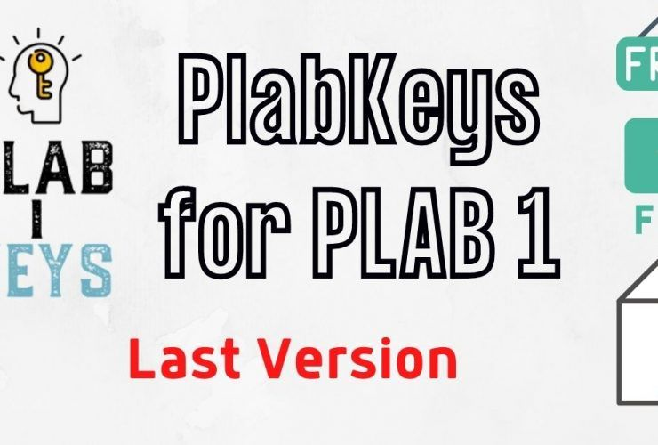 PlabKeys Version 2 for PLAB 1 2021 pdf