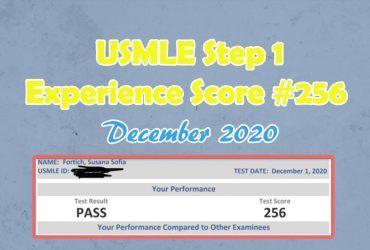 USMLE Step 1 Experience {Score #256} December 2020