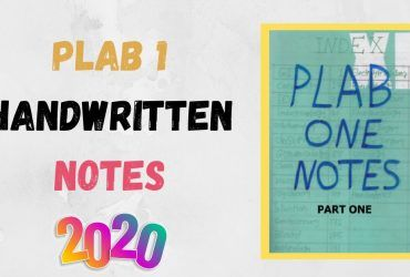 Download PLAB 1 Handwritten Notes 2020